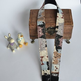 Smile Cat Sleeping Strap Camera Strap Uke Lili Camera Strap