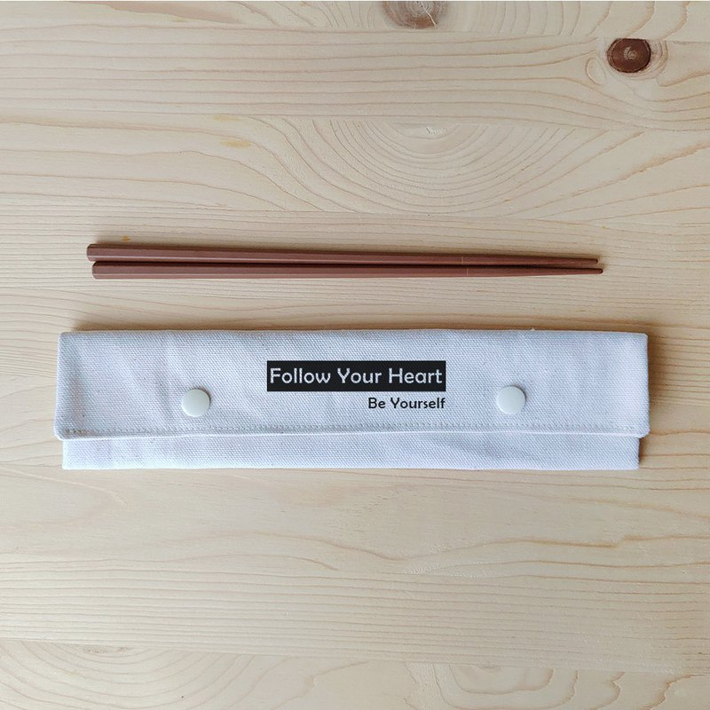 Positive energy chopsticks bag chopsticks group_follow your heart