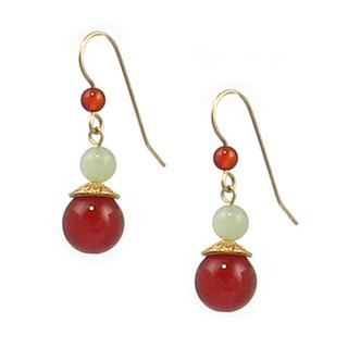 Agate jasper earrings