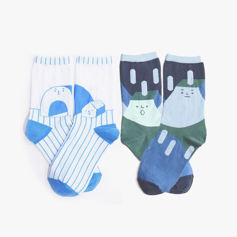Igloo & Rock Socks - Set of 2