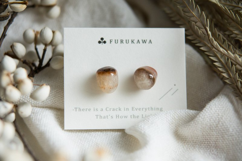 CRACK | Mineral Earrings | EARRINGS
