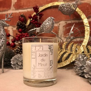 Midnight Garden Handmade Soy Candles - Warm Christmas Orange