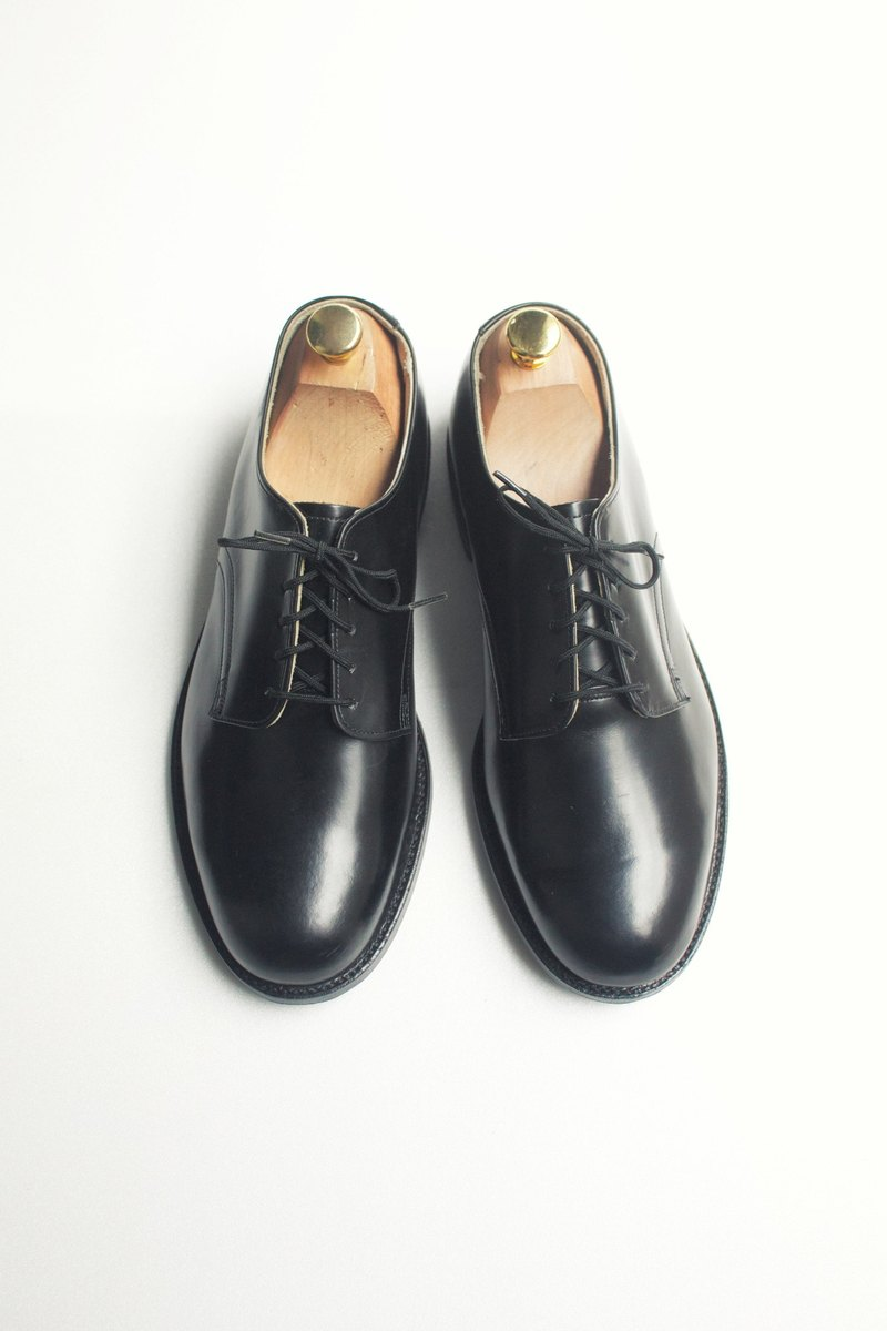 90s 美國海軍制式皮鞋|US Navy Service Shoes US 8.5W EUR 41 -Deadstock