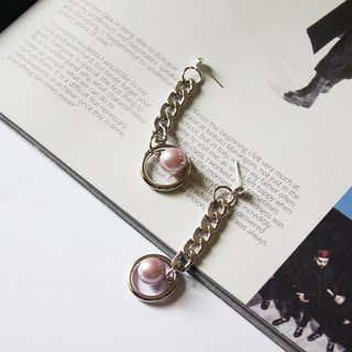 mint neiff I elegant and concise pearl earrings wear / clip