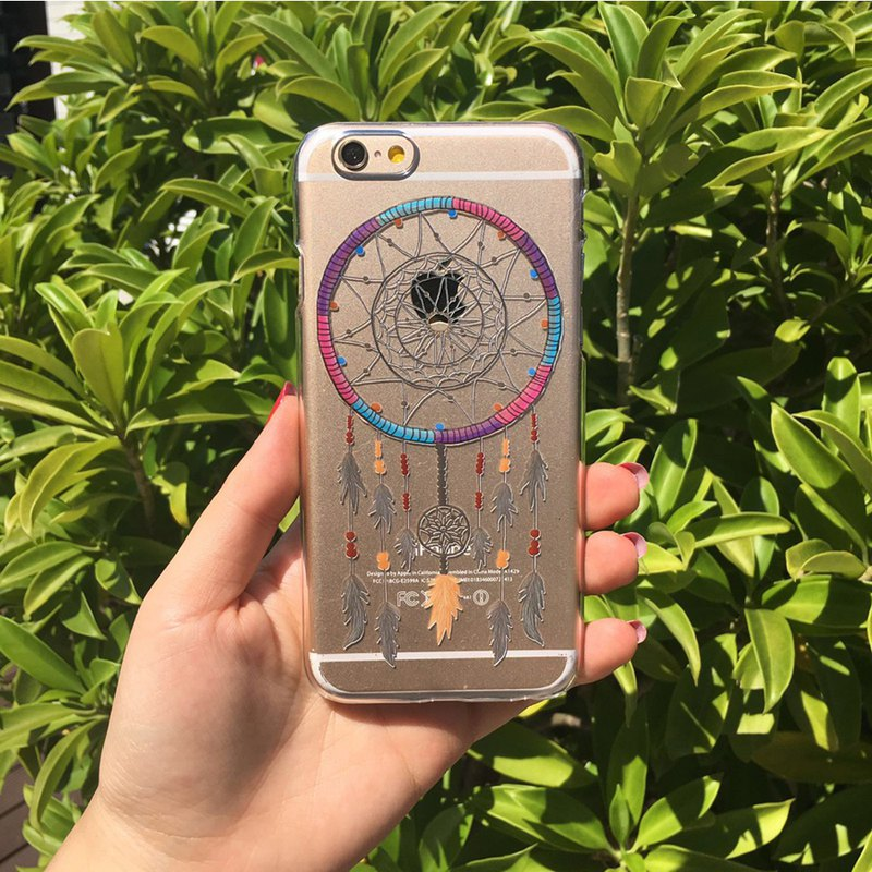 Colourful Dreamcatcher pattern phone case For iPhone and Samsung