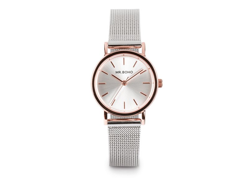 Spain Mr.Boho Design Watch Watch MINI Galaxy Silver / Rose Gold