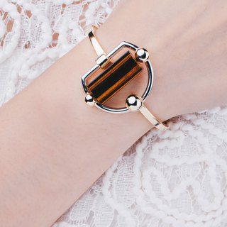 THE ARCH | Tiger's Eye Bangle