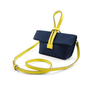 || Mini Cross Bag|| Lunch 3C Storage Bag || Dark Blue