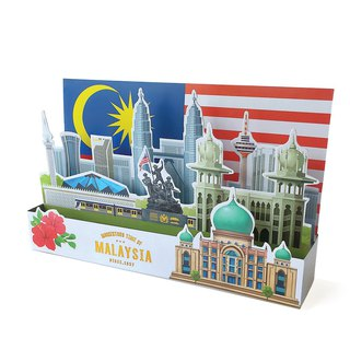 Momentous Time Of Malaysia Greeting Card