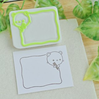 Mouse's pencil box frame stamp