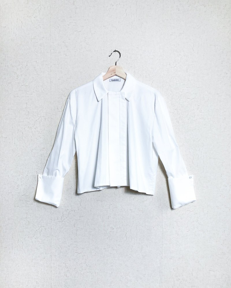 Cotton Open Sleeve Shirt