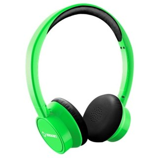 """BRIGHT"" JOYNFC wireless Bluetooth headset fluorescent green"