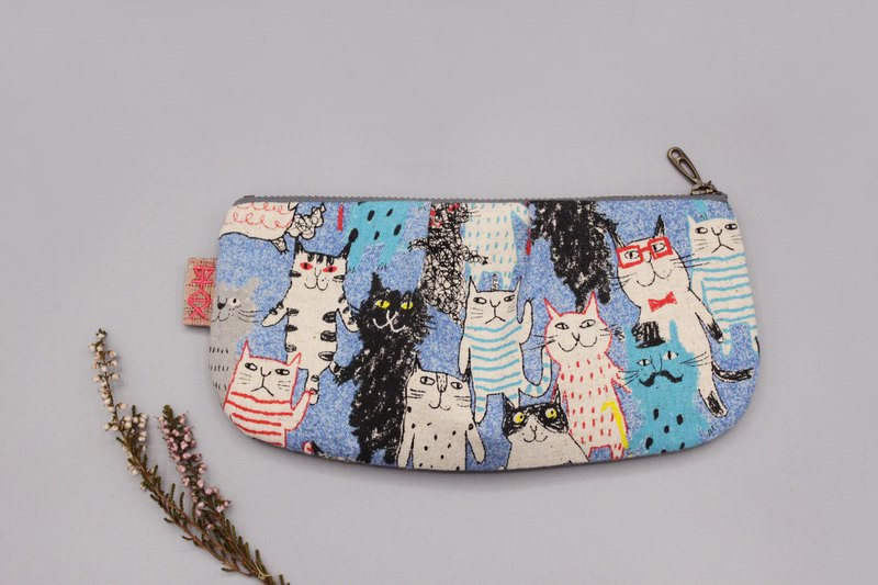 Peaceful Universal Bag - Cat Happy Party, double-sided two-color bag