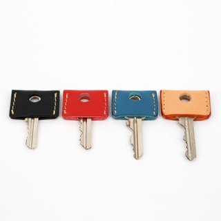 MOOS Key Leather Case Italian vegetable tanned leather (a set of four)