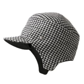 Flying Cap / Classic Houndstooth (can be worn on both sides)