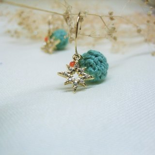 Earrings - Stars - Cute