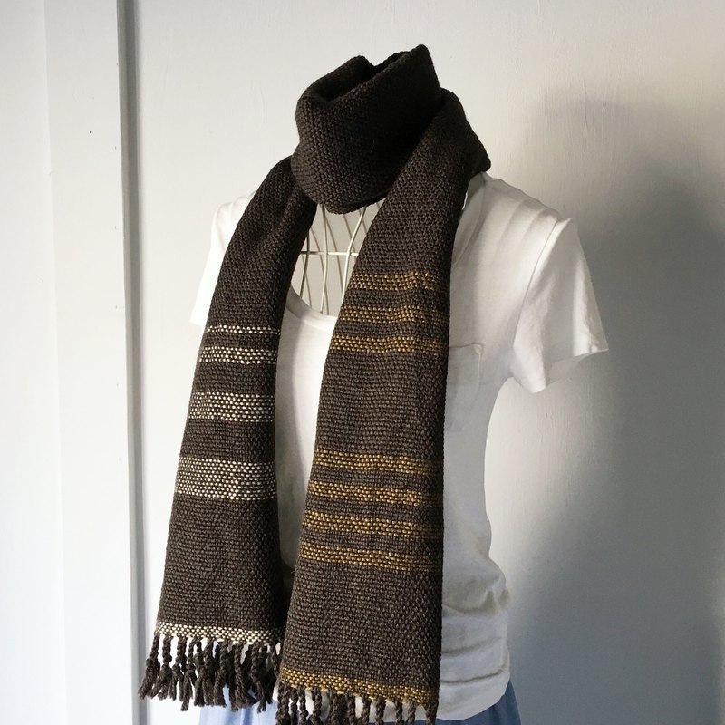[Unisex Scarf] Dark Brown