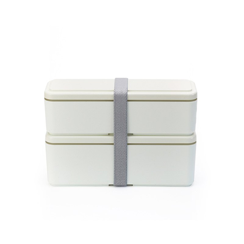 Sanhao Production Co., Ltd. GEL-COOL Ladies Series Double Cold Storage Bento Box M Snow White