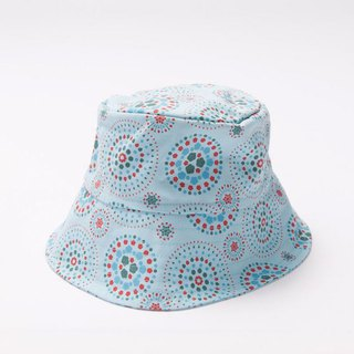 Fisherman Hat-L / Firework / Sky Blue