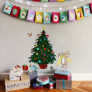 Belle & Boo Christmas Tree Stickers Group