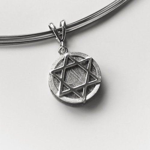 Meteorite jewelry star of david solid circle meteorite pendant meteorite jewelry star of david solid circle meteorite pendant aloadofball Image collections