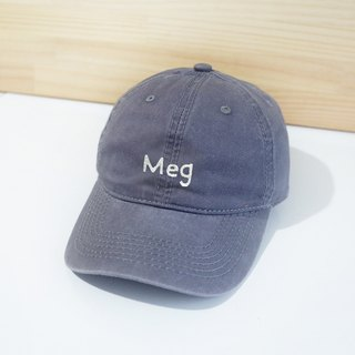 [Q-cute] hat series - custom English word / retro wind baseball cap (customized -7 letters or less)