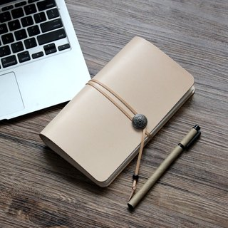 Xie Shili graduation gift to the teacher to send students to the white a6 loose-leaf notebook handmade leather notebook