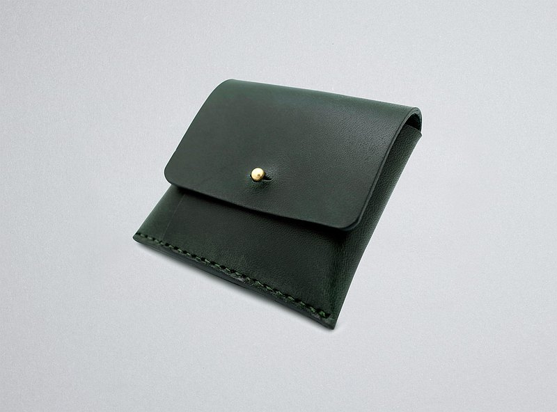Leather Coin Purse (13 colors / engraving service)