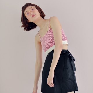 Highestjump black ribbon skirt