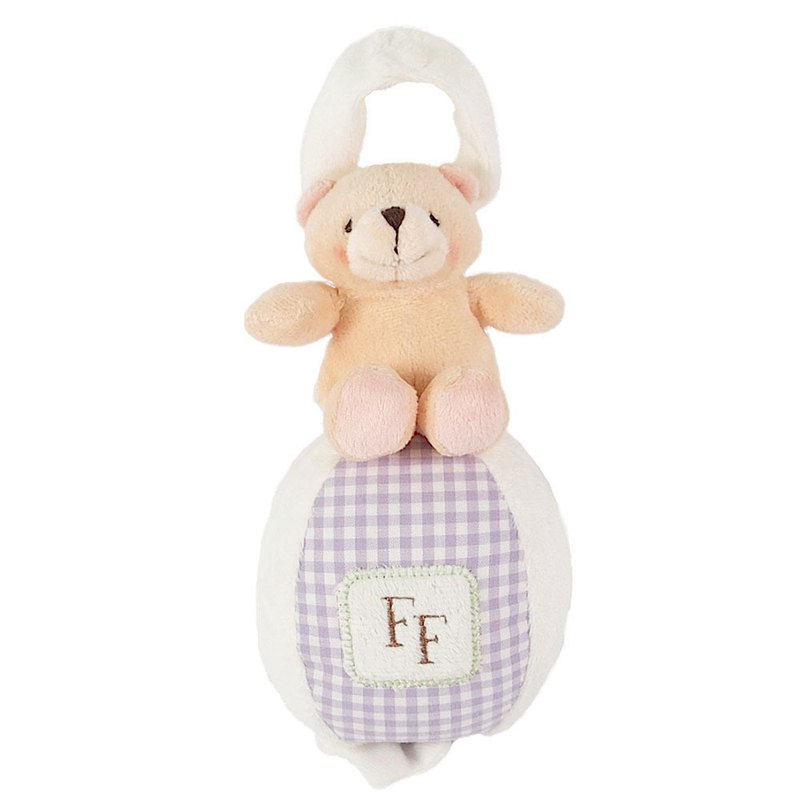 Baby Cotton Velvet Music Ornaments[Hallmark-ForeverFriends Plush Baby Series]