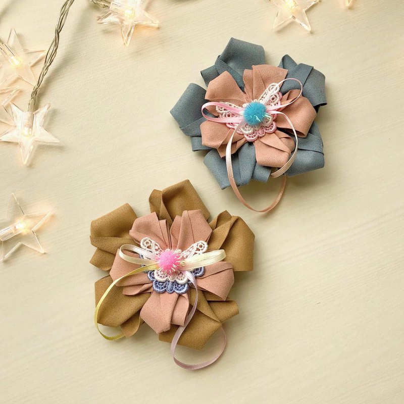 Child Child Flower Hairpin Micro-brush Hair Hairpin Butterfly Bracelet Hair Ball Ribbon