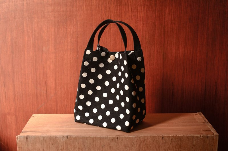 Black and white jade - portable bag