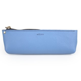 [ALRAN]|Pencil Case M|Zipper Pouch Silver Kraft