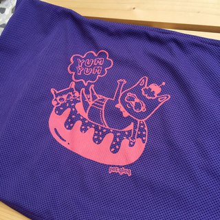 Purple donut method cool style cloth cover (requires use with cool pad)
