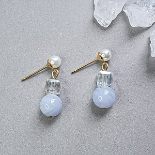 Agate Non allergic earrings