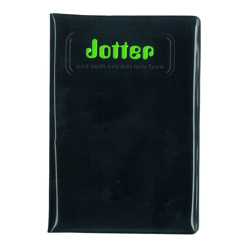 Alfalfa Jotter Multi-function sketch book(Black)