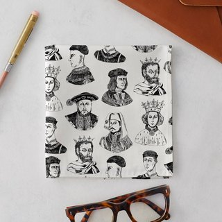 SHAKESPEARE KINGS HANDKERCHIEF & POCKET SQUARE
