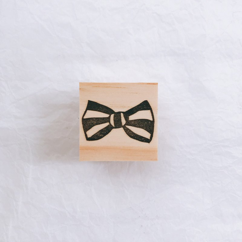 L-French bow series handmade seal -004