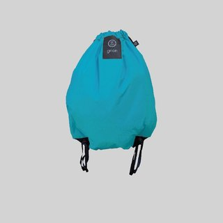grion waterproof bag - back section (M) blue sky