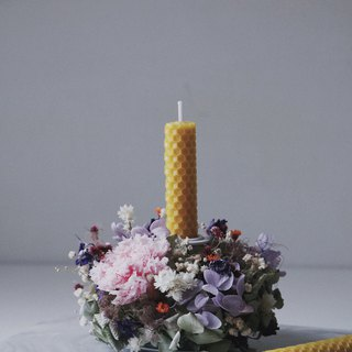 Wild flower candlestick ornaments / ornaments / eternal flowers / not withered / dry flowers