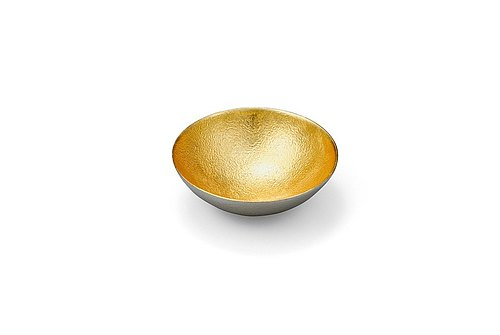 Pure tin gold foil seasoning plate (S)