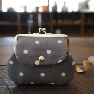 Collecting old time [Silver canvas little pocket bag]