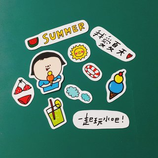 Summer time/sticker pack