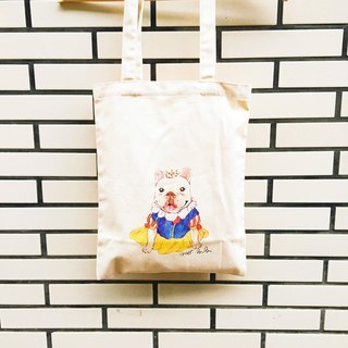 Law Doo Snow White canvas bag