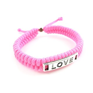 Valentine's flagship product - LOVE [Love] hand rope pink section