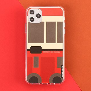 Hong Kong Retro Transports iPhone X, 8/8 Plus, 7/ 7 Plus Phone Case Kowloon Bus