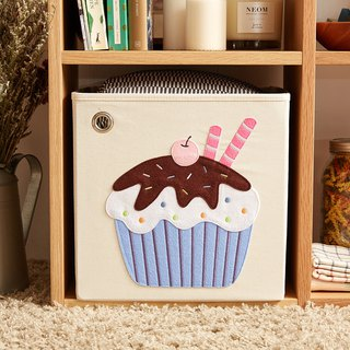 US kaikai & ash Toy Storage Box - Cherry Coco Cup Cake