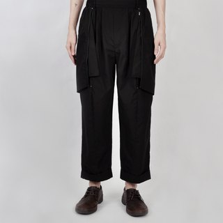 AFTER - Straight Reversible Trousers