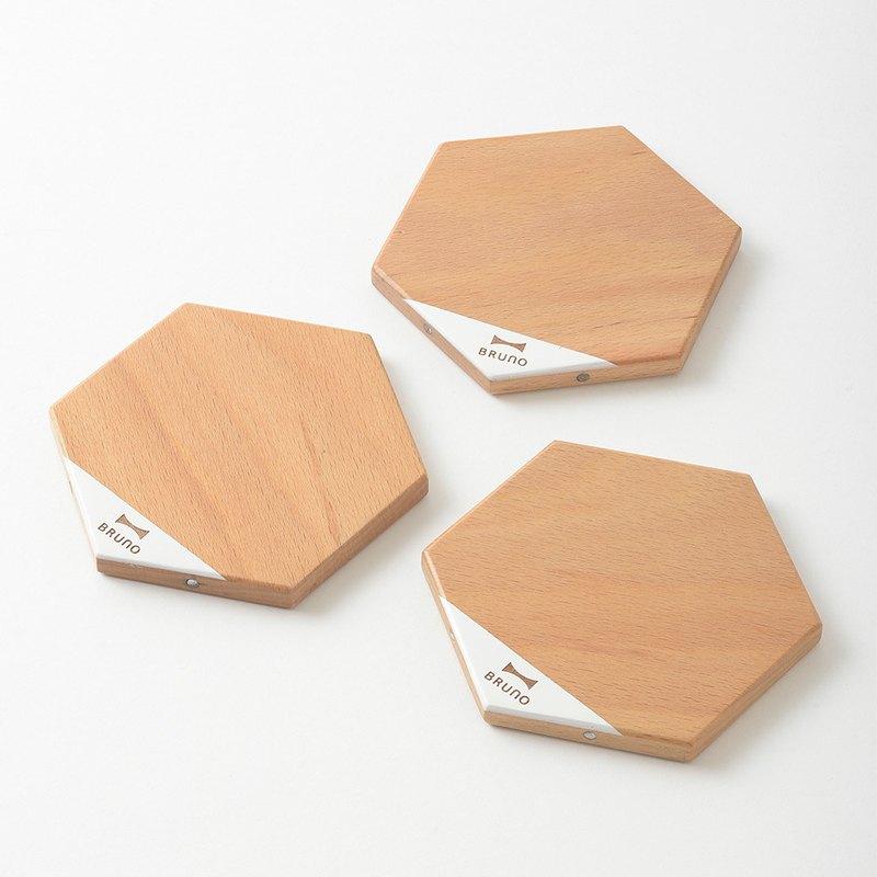日本BRUNO 原木磁吸式組合桌墊