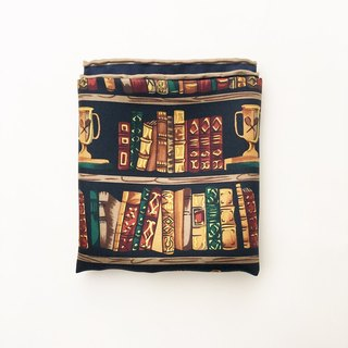 Writers Series Classic scarf - Favorites Bookshelf | Continental stationery writing Silk Scarf
